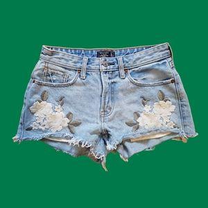 Abercrombie floral shorts harper low rise 24/00